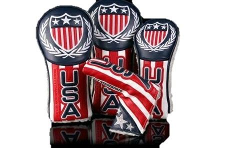 Scotty's Custom Shop2012 USA Ryder Cup USA HeadcoverDr.Fw.Ut. Putter 4p Set