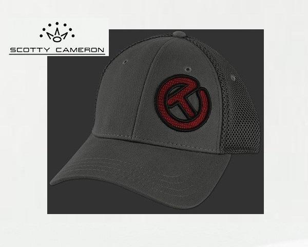 送料込Scotty's Custom Shop Hat2016 ついに入荷 Scotty Red Circle TCharcoal Cameron 卸売り Large