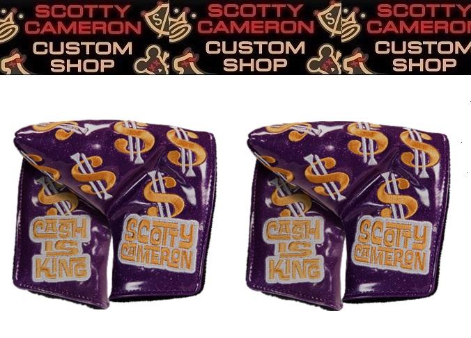 ★代引料込で この価格2017 Release キャメロンスコッティーズカスタムショップ限定Custom Shop Limited ReleaseCash is King Mid-Mallet Bling Purple在庫分限り