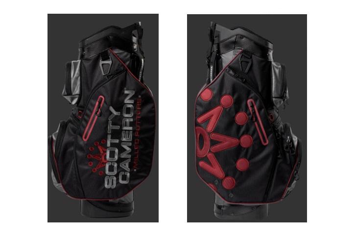 2020年 LimitedSCOTTY CAMERONCART BAG Black セール品 RedLas 卸直営 Gray Release未使用保管品 Vegas