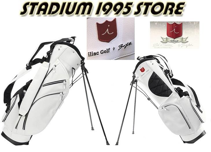 ★送料 代引料込で この価格iliac GolfPURIST STAND BAG WHITEイリアックゴルフスタンドバッグ特価提供品決算特価