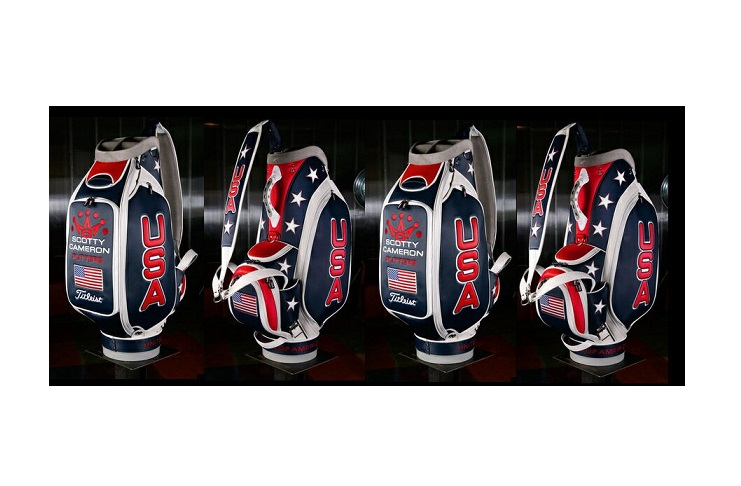 ★Scotty's Custom ShopTITLEIST LIMITED STAFF BAG!Scotty Cameron2012 ライダーカップRyder Cup Team USA Staff BagMatching Headcover Set未使用保管品