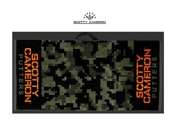 世界の人気ブランド 送料込 キャメロン Scotty CameronScotty's Custom ShopRUN 爆買い新作 COMOGolf Towel GREEN 在庫限り COMOONLY New