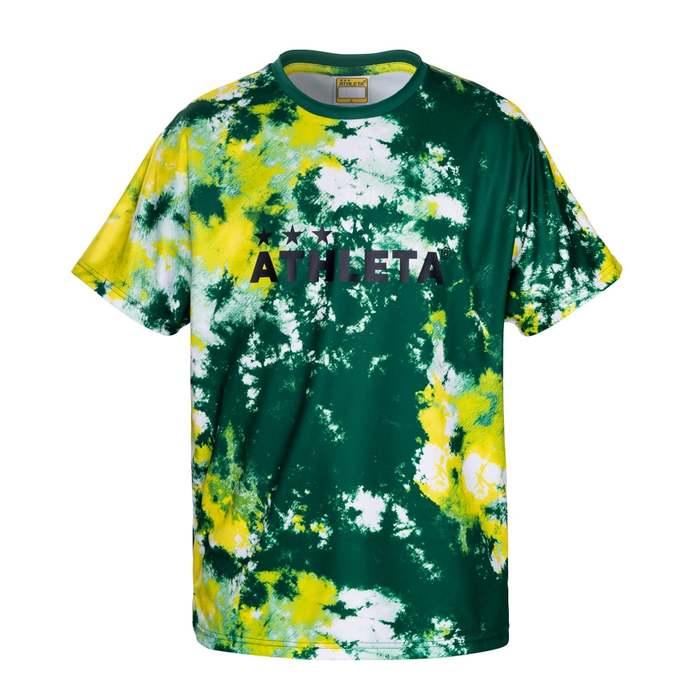 再入荷/予約販売! 商品レビュー記入でクーポンGET ATHLETA アスレタ グラフィックプラTシャツ 注文後の変更キャンセル返品 02347 ST フットサル 30DGR プラシャツ等
