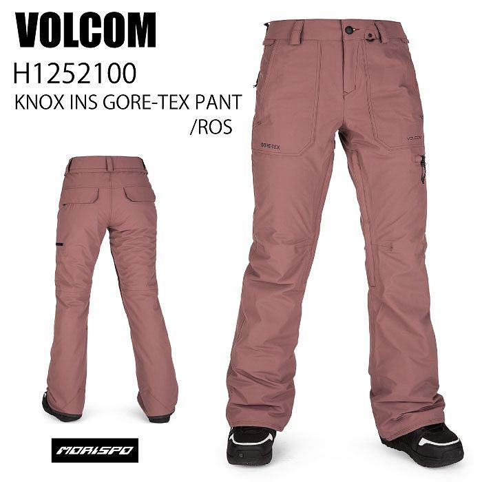商品レビュー記入でクーポンGET VOLCOM ボルコム ブランド買うならブランドオフ ウェア KNOX INS GORE-TEX PANT 20-21 ST スノーボード ゴアテックス 限定タイムセール パンツ スキー レディース ROS