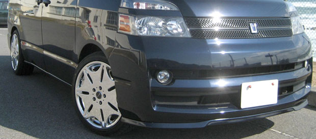 トヨタ ヴォクシー セレブリップライナー/エアロフロントリップスポイラー・ AZR60G/AZR65G・X(H16/8~H19/5)ステージ21(Stage21)