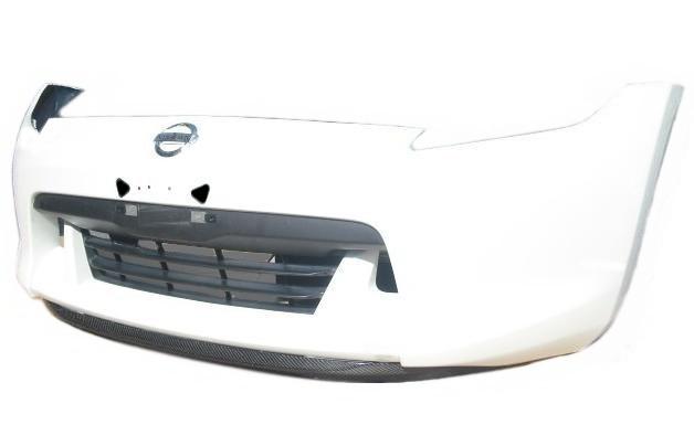 日産 フェアレディーZ・Z34/HZ34・ベース、バージョンS/T/ST、ロードスター、ロードスターバージョンT/ST(H20/12~H24/6)用カーボセレブリップライナー/エアロフロントリップスポイラー/ステージ21(Stage21)