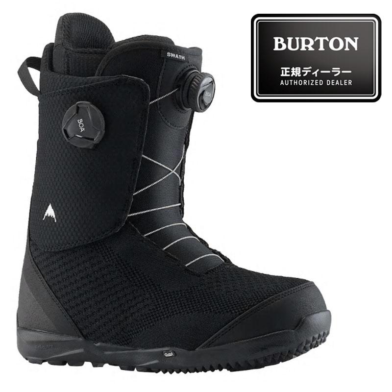 18-19モデル【BURTON】バートン【Swath Boa】Black【ボアシステム】SNOWBOARD【スノーボード】正規品【保証書付】ブーツ【BOOTS】ボア【送料無料】