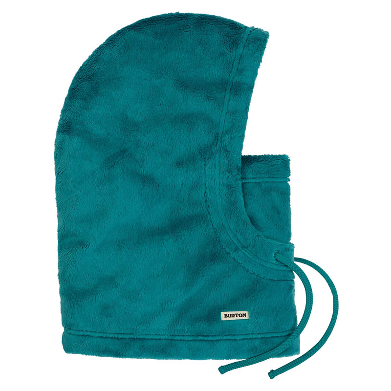 19-20モデル【BURTON】バートン【Cora Hood】Green-Blue Slate【フード】帽子【SNOWBOARD】スノーボード【正規品】フードウォーマー【ネックウォーマー】ネコポス対応可