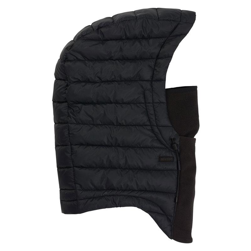 19-20モデル【BURTON】バートン【Insulated Hood】True 黒【フード】帽子【SNOWBOARD】スノーボード【正規品】フードウォーマー【ネックウォーマー】ネコポス対応可