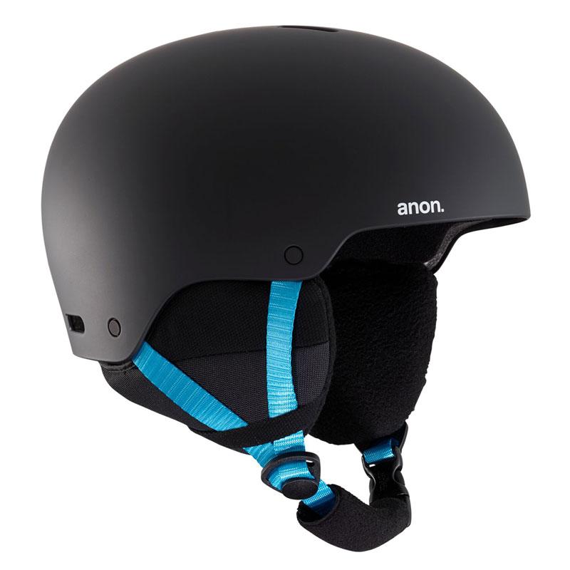 19-20モデル【anon.】アノン【Men's Anon Raider 3 Helmet Asian Fit】Black Pop【アジアンフィット】595g【ヘルメット】SNOWBOARD【スノーボード】正規品【BURTON】バートン