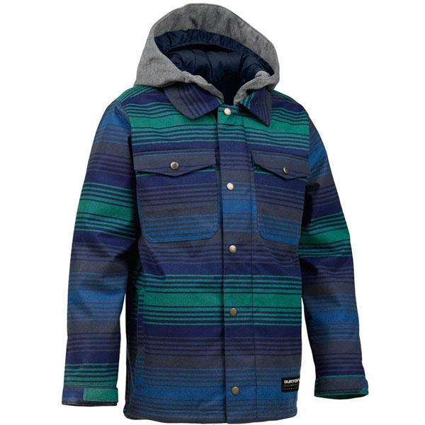 20%OFF【BURTON】バートン【Boys' Uproar Jacket】DEEP SEA VEGABONDIA Lsize【SNOWBOARD】スノーボード【ジャケット】ウエアー【正規品】Kids【キッズ】Youth【ユース】子供用【男の子】WEAR【送料無料】