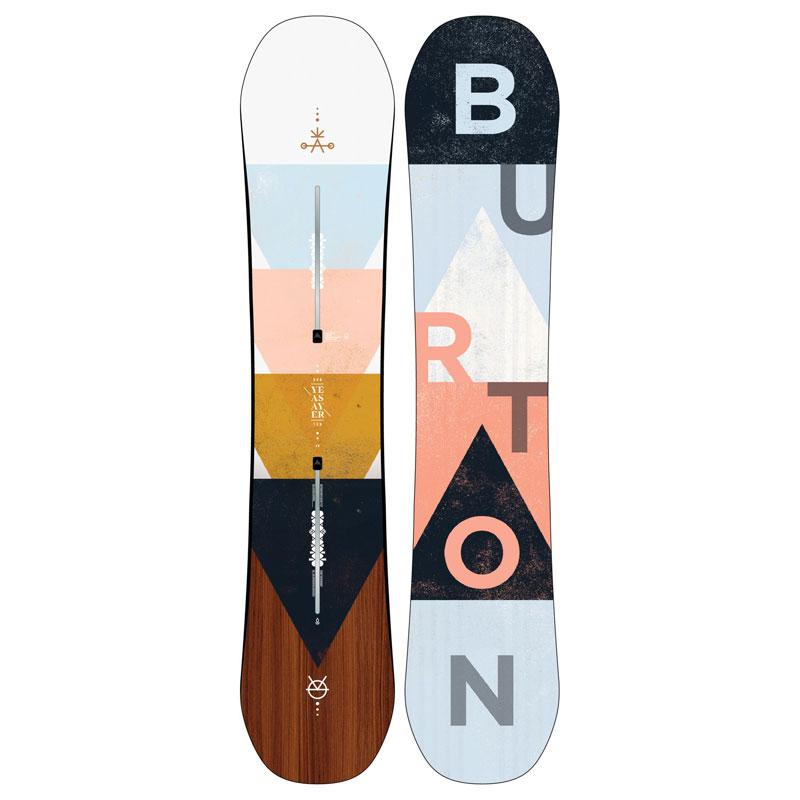 19-20モデル【BURTON】バートン【Women's Yeasayer Flat Top】140cm【ウーメンズ】レディース【板】フラット【ツイン】SNOWBOARD【スノーボード】正規品【保証書付】送料無料