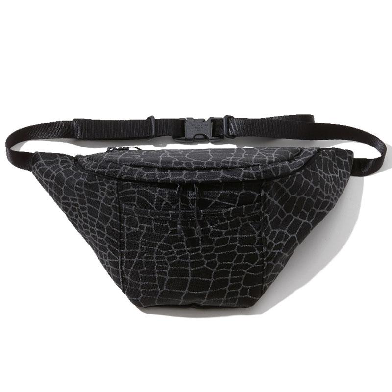 【RADIALL】ラディアル【SMOKEY CAMPER FANNY PACK / SPIDER】Black【BAG】ウエストバッグ【鞄】