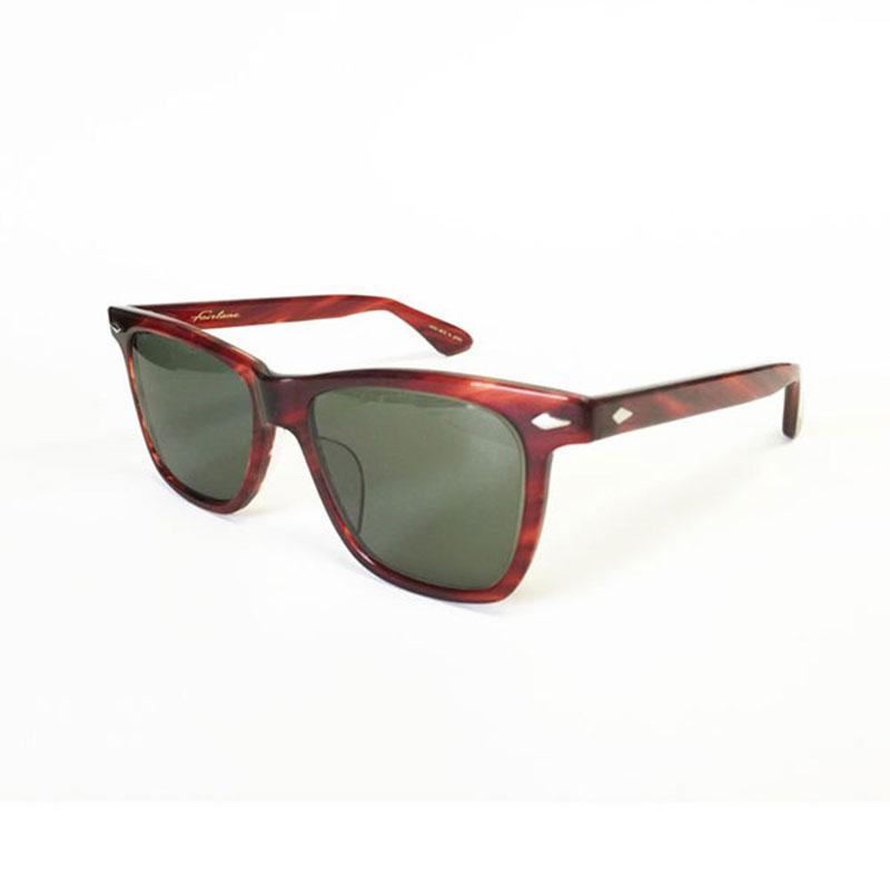 【RADIALL】ラディアル【FAIRLANE GLASSES】RedBrown/Green【眼鏡】サングラス20000【送料無料】