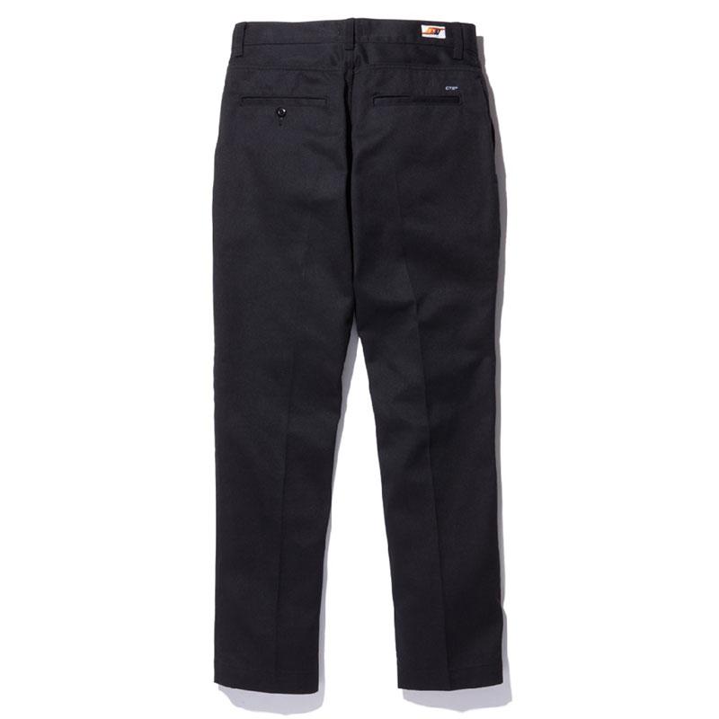 【RADIALL】ラディアル【CVS SLIM PANTS】Black【チノパンツ】ワークパンツ【定番】送料無料