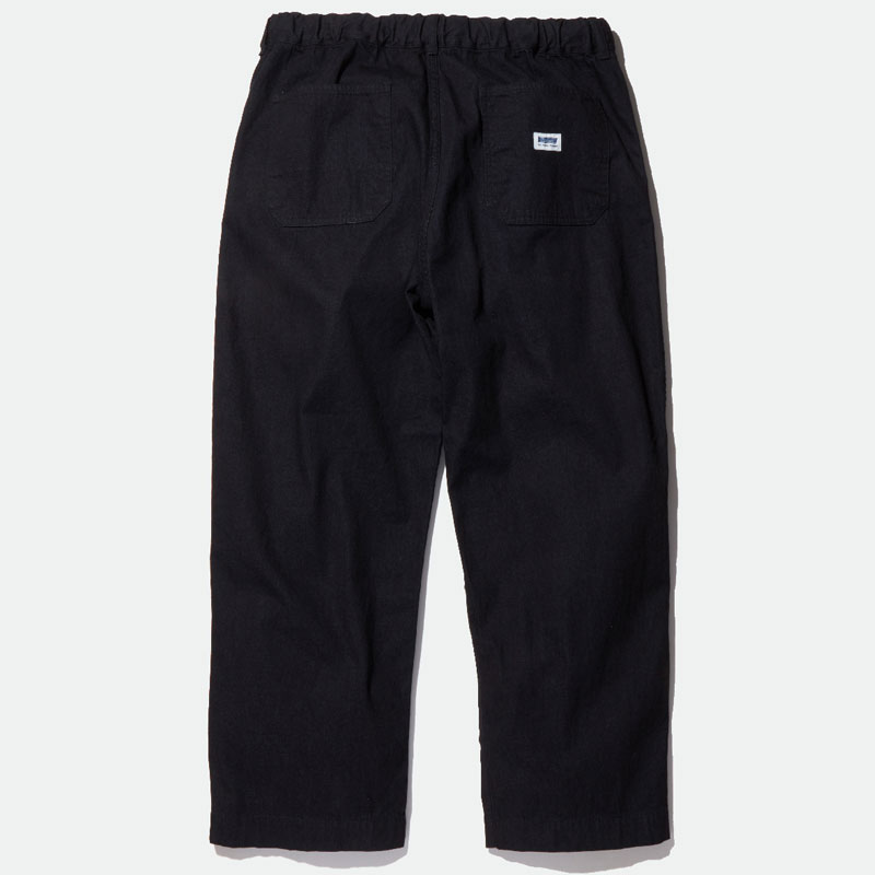 【RADIALL】ラディアル【MONK WIDE FIT EASY PANTS】Black【イージーパンツ】パンツ【送料無料】