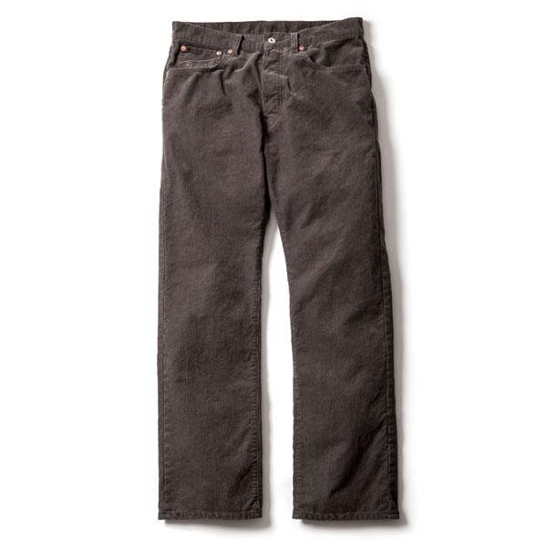 【RADIALL】ラディアル【CHEVY VAN CORDUROY PANTS】Gray 32inch【コーデュロイパンツ】ストレート【送料無料】20000