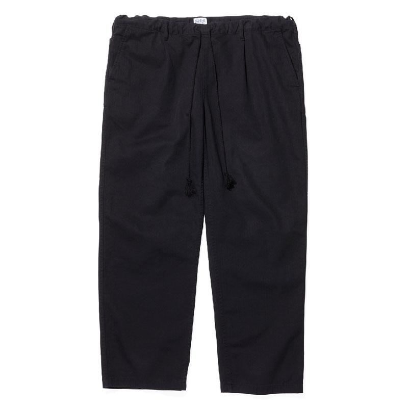 【RADIALL】ラディアル【T.N. EASY PANTS】Black【TUFF NUFF】タフナフ【イージーパンツ】送料無料