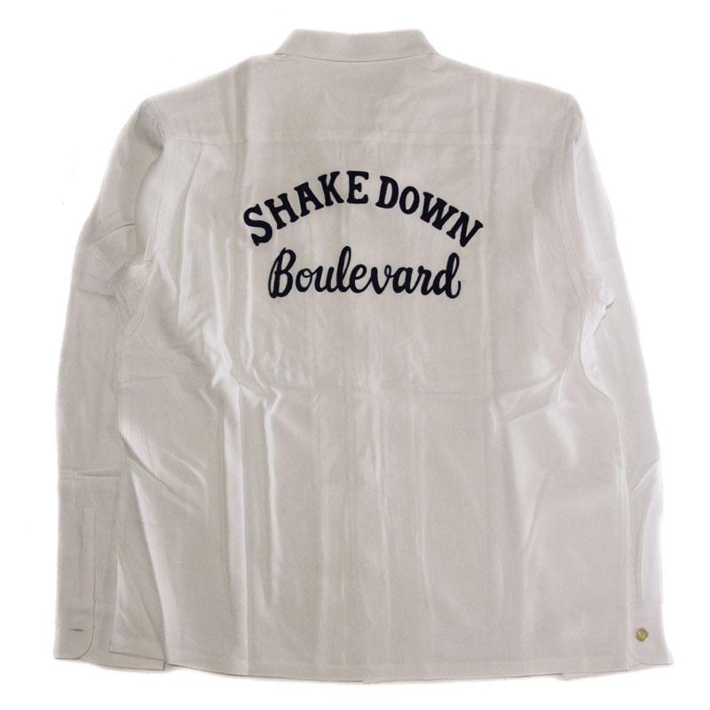 【RADIALL】ラディアル【78'S Open Shirts White Lsize】レーヨンシャツ【長袖シャツ】送料無料【20000】