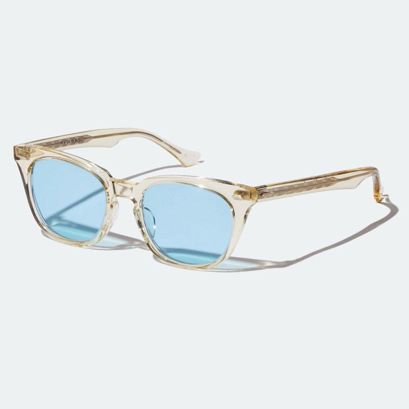 【RADIALL】ラディアル【FIFTY NINE - SUNGLASSES】Clear × Blue【眼鏡】サングラス【送料無料】