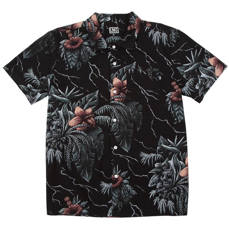 【LOSER MACHINE】ルーザーマシーン【Cloverdale shirt】Black【半袖シャツ】シャツ【送料無料】