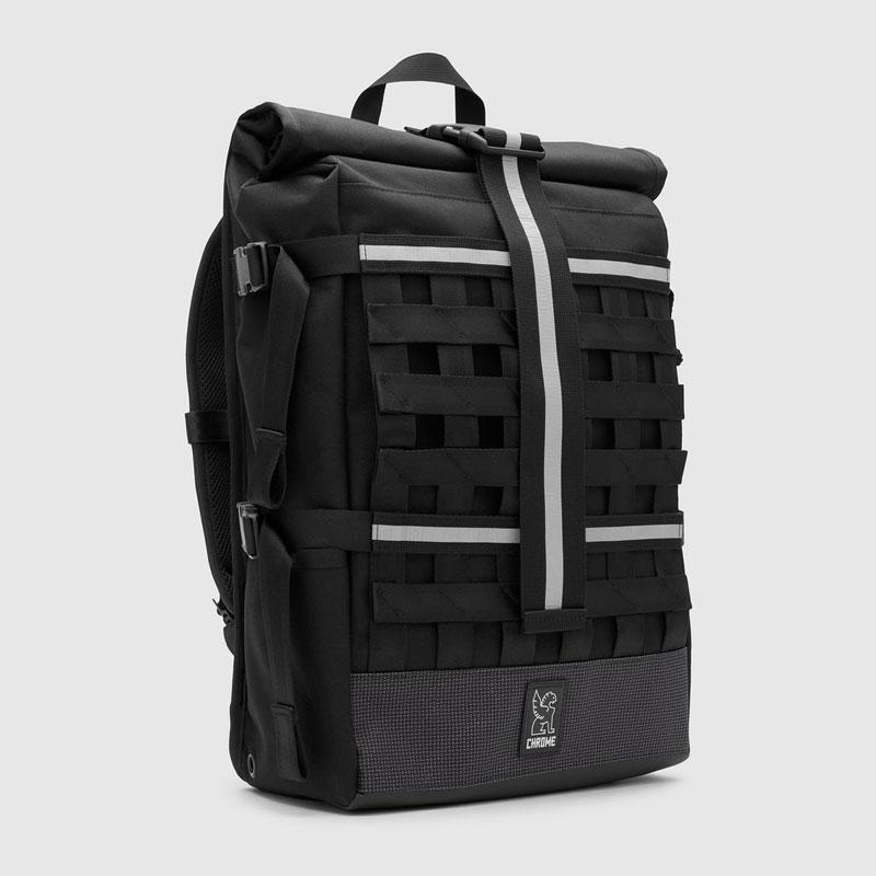 【CHROME】クローム【NIGHT BARRAGE CARGO Backpack】Night/Black【バックパック】鞄【リュック】BAG【バッグ】バラージ【完全防水】ロールトップ【SKATEBOARD】スケボー【送料無料】