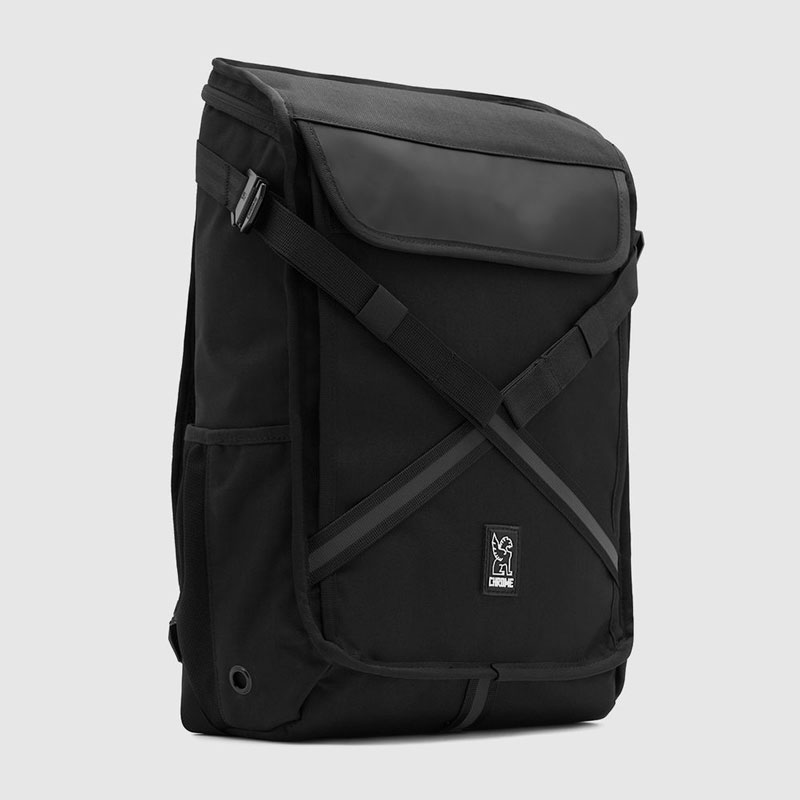 【CHROME】クローム【ECHO BRAVO Backpack】All Black【バックパック】鞄【リュック】BAG【バッグ】エコー ブラボー【防水】SKATEBOARD【スケボー】送料無料