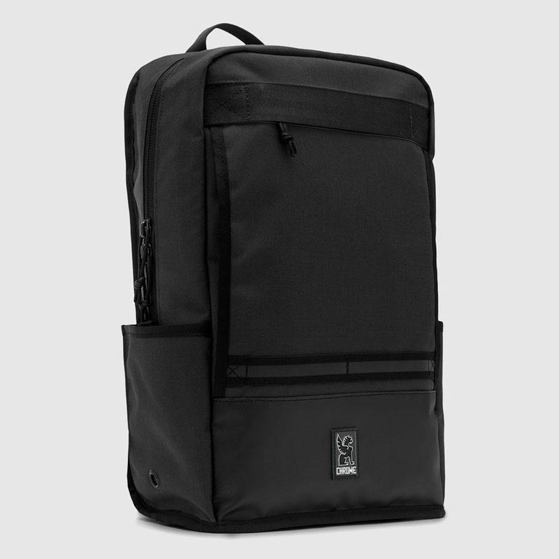 【CHROME】クローム【HONDO Backpack】All Black【バックパック】鞄【リュック】BAG【バッグ】ホンドー【防水】SKATEBOARD【スケボー】送料無料