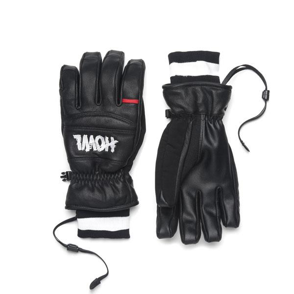 30%OFF【Howl】ハウル【Vintage Glove】Black【SNOWBOARD】スノーボード【グローブ】レザー【正規品】送料無料