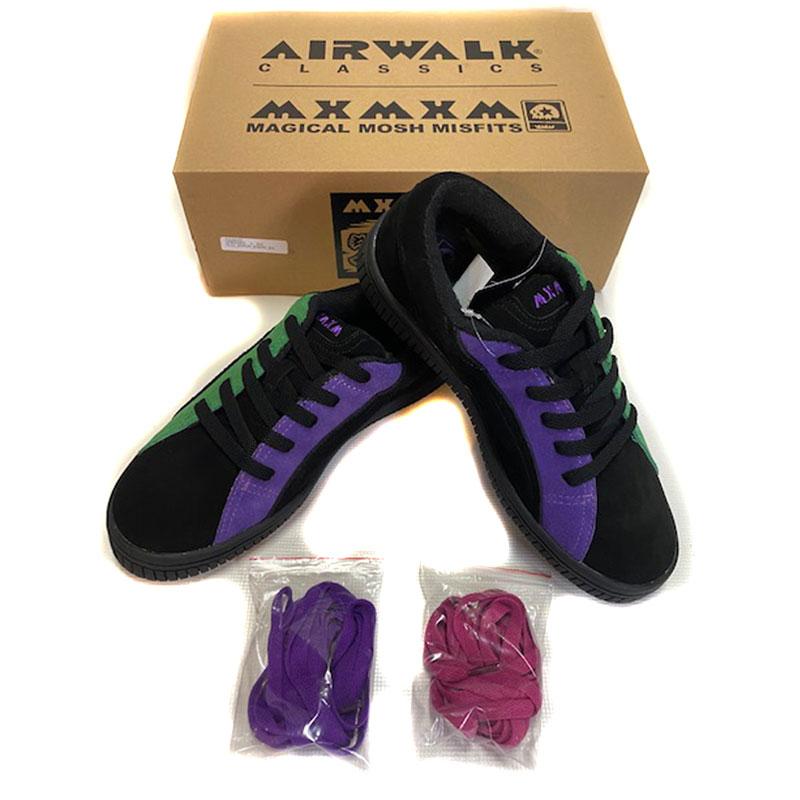 【AIRWALK x MxMxM 】エアーウォークxマジカルモッシュミスフィッツ【DOKU ONE】コラボシューズ【スケート】スケシュー【靴】プロモデル【メンズ】レディース【キッズ】【送料無料】