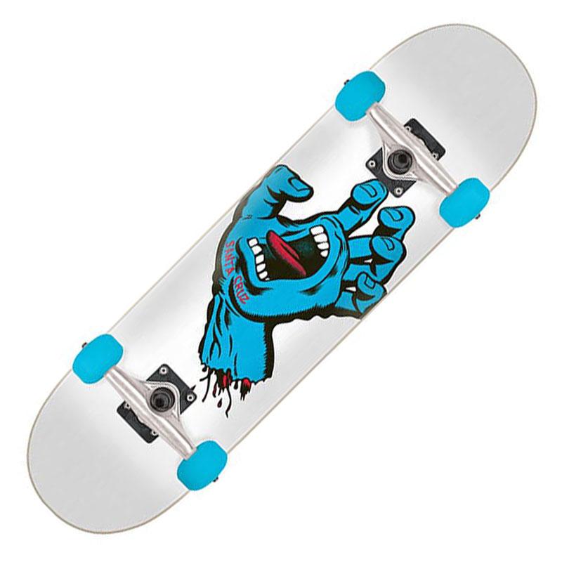 【Santa Cruz】サンタクルーズ【Screaming Hand Mini Complete Deck】7.25 (inch)【SKATEBOARD】スケボー【スケート】デッキ【スクリーミングハンド】コンプリート【完成品】子供【キッズ】KIDS【送料無料】