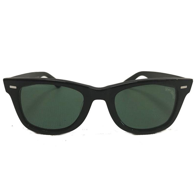 【UNCROWD】アンクラウド【HILUX】Black/Green【グリーンレンズ】バイカーシェード【サングラス】UC-018【BLUCO】ブルコ【送料無料】