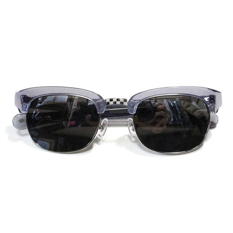【B.W.G】ブルコワークガーメント【GLORY BOX】Black Clear/Silver Mirror Smoke Lens【サングラス】眼鏡【ミラーレンズ】Choopper【チョッパー】バイカー【BLUCO】ブルコ【BWG】BLUCO WORK GARMENT【UNCROWD】アンクラウド【送料無料】