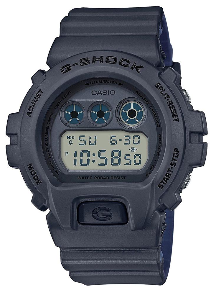 """CASIO """"G-SHOCK"""" DW-6900LU-8JF ダークグレー/ネイビー[カシオ Gショック ミリタリー ]【父の日】 【ギフト】 【贈り物】 簡易ラッピング無料"""