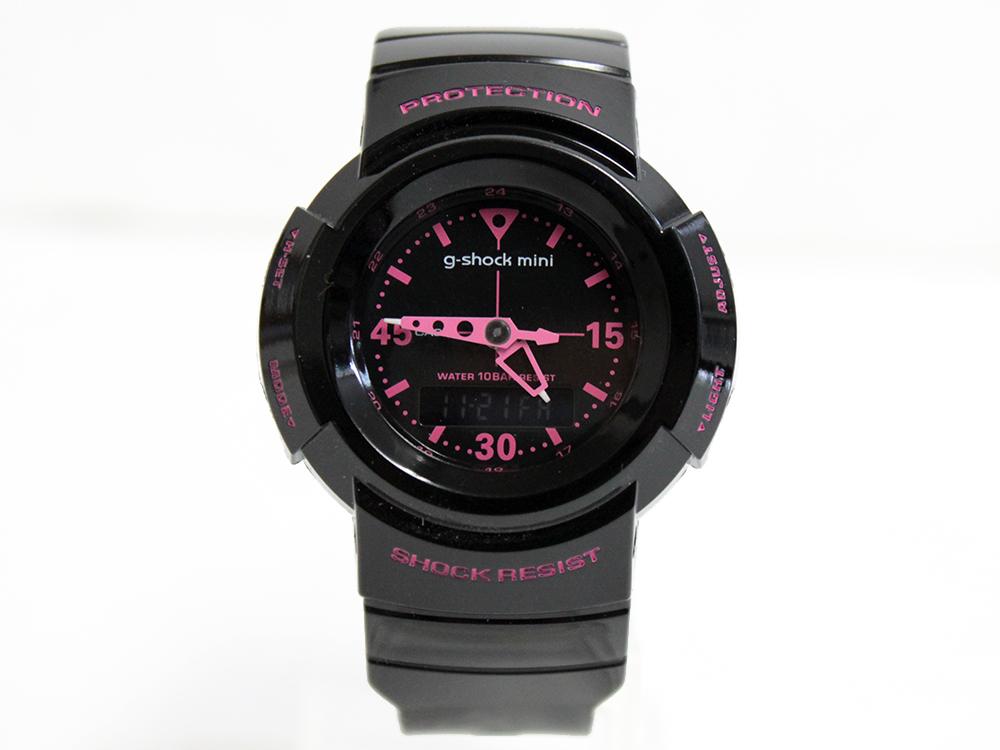 CASIO g-shock mini GMN-500-1B2JR ブラック/ピンク[カシオ G-ショックミニ アナログモデル 送料無料] 10P30Nov14