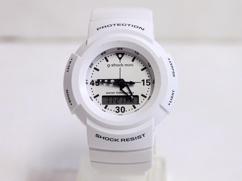 CASIO g-shock mini GMN-500-7BJR ホワイト[カシオ G-ショックミニ アナログモデル 送料無料]