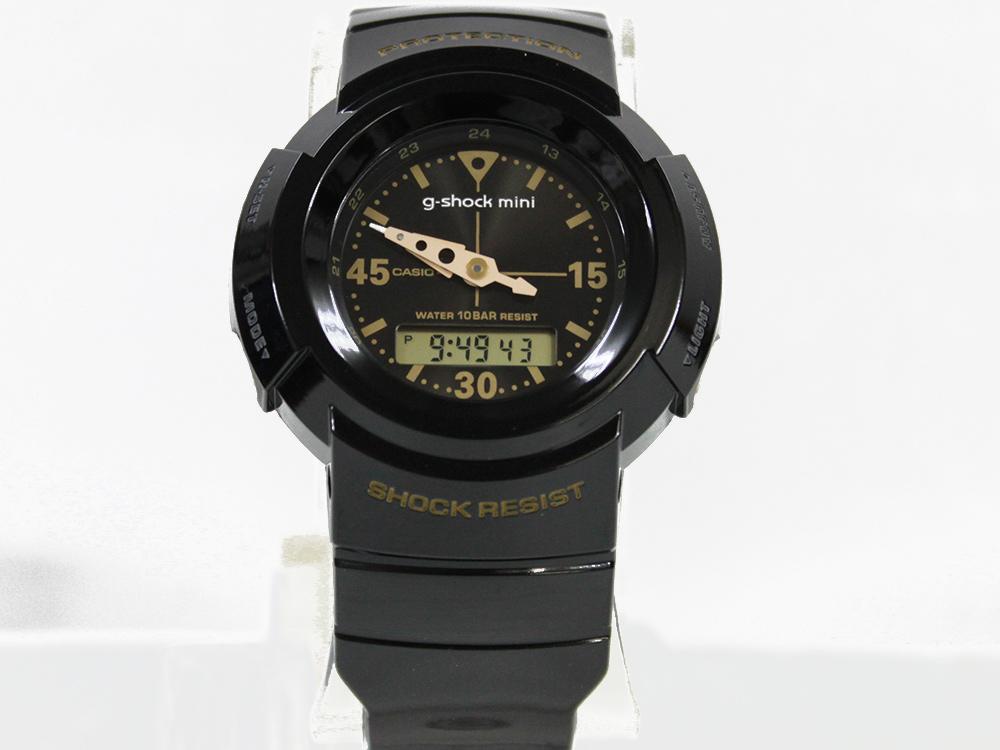 CASIO g-shock mini GMN-500G-1BJR ブラック/ゴールド[カシオ G-ショックミニ アナログモデル 送料無料]