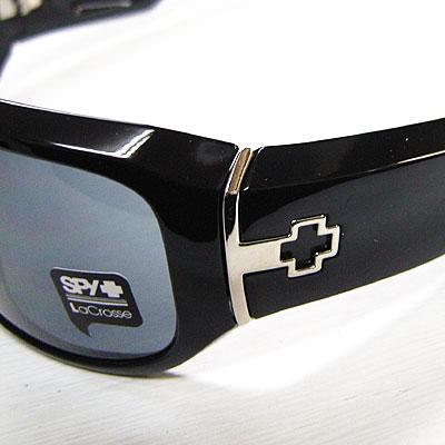 4296f70c12 SPY OPTIC LACROSSE shiny black   gray lens  the スパイオプティックサングラス ADDICT series
