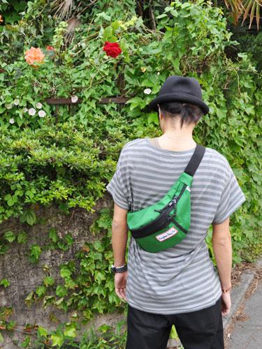 金斯敦袋有限公司 Cordura 滑稽包凯利绿色 [金斯敦袋范妮包 Cordura 尼龙腰袋髋关节]