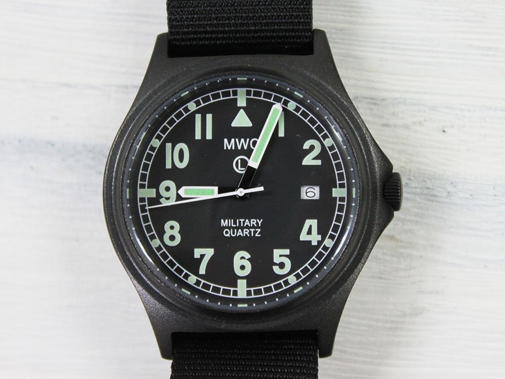 MWC G10BH PVDBK NATO軍(EU 採用モデル) Quartzブラック[ミリタリーウォッチカンパニー ユニセックス 腕時計 ラグ幅 20mm NATOストラップ]