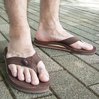 8acebe0482f02b standa  RAINBOW Sandals-Hemp Double Layer Arch Brown