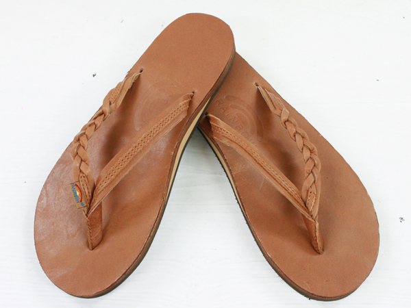 365c622a38f6 RAINBOW Sandals CLASSIC LEATHER Single Layer Arch