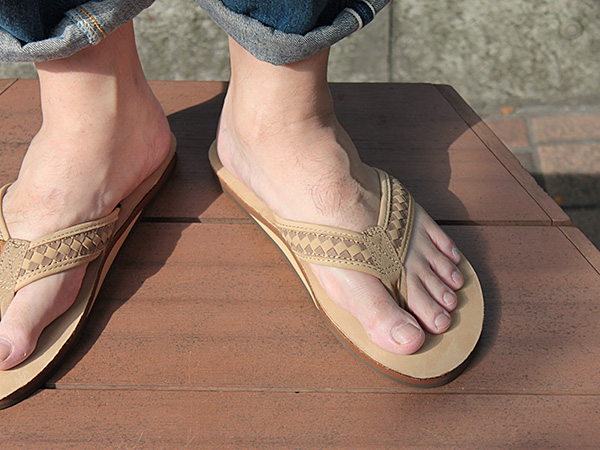 832224ccdabab6 RAINBOW Sandals The Bentley Premier Leather Tong both ed. Sierra Braun   Rainbow single layer leather Beach sandal  10P05July14