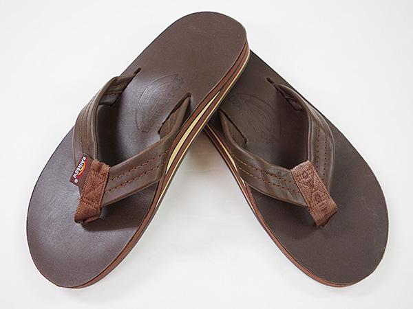 e0d176149528 standa   Rainbow ダブルアーチレザービーチ sandals