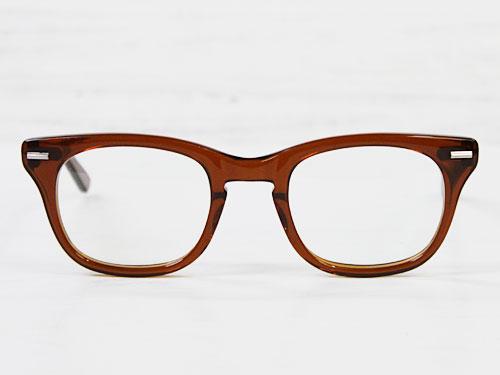 SHURON FREEWAY ブラウンスモーク 【UV400クリアレンズ入り】 [シュロン フリーウェイ ウェリントン型メガネ 眼鏡フレーム]