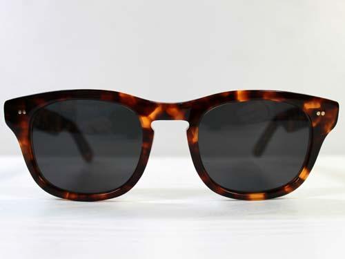 SHURON SIDEWINDER Sunglasses デミアンバー [シュロン サイドワインダー ウェリントン型サングラス]