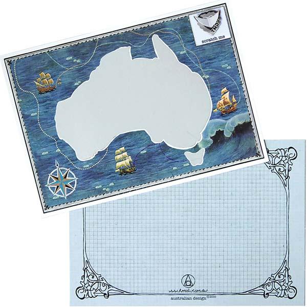 "TMOD""Scratchie 卡 AUSTRALIANA""澳大利亚 [Ty 心情刮刮卡贺卡狂欢]"