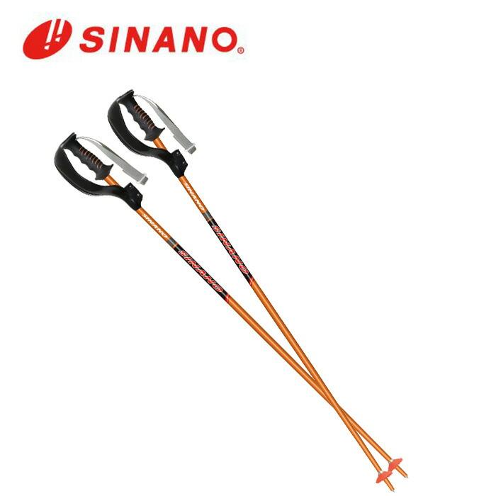 日本正規品 20-21 SINANO シナノ SL-16 日本限定 ボーグ付 スラローム ジュニアモデル レーシングスキーポール ストック 営業 パンチガード SL競技専用