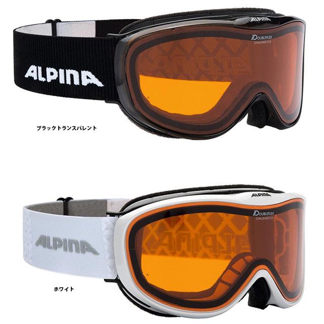 19-20 ALPINA アルピナ CHALLENGE S 2.0 DH チャレンジ S 2.0 DH A71211 ゴーグル スキー スノーボード メガネ対応 ジュニアや小顔の方向け*